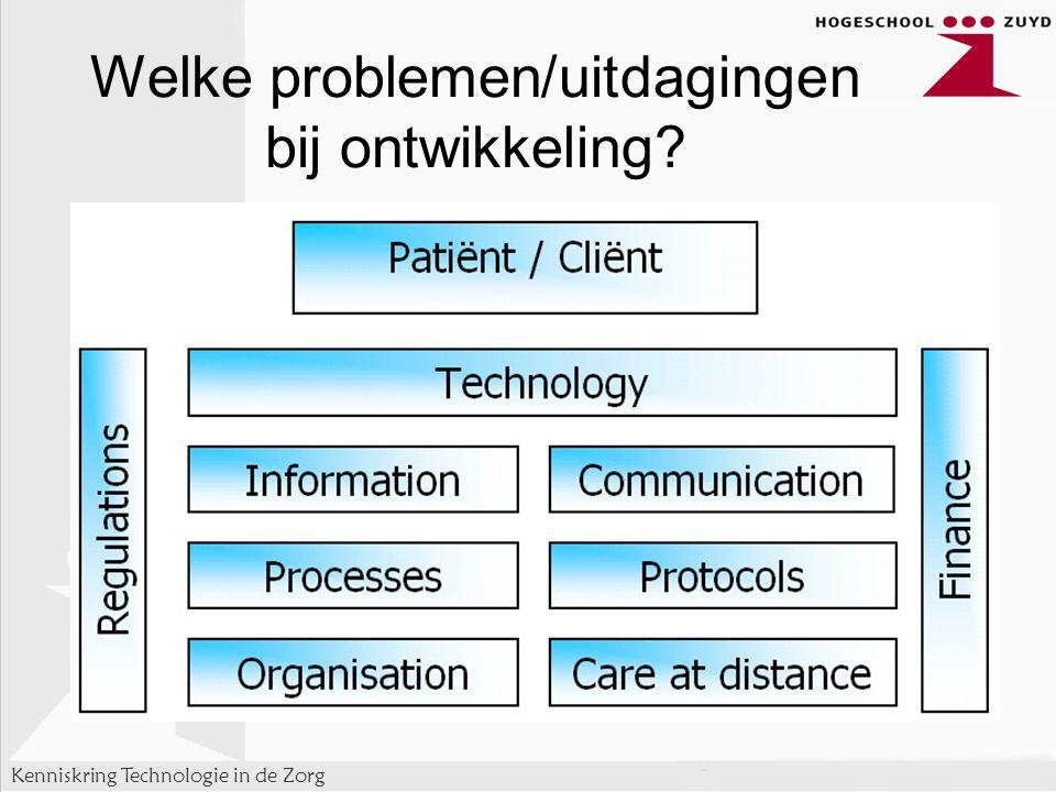 Welke problemen/uitdagingen bij ontwikkeling