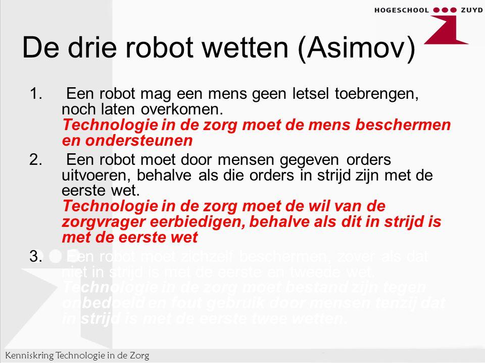 De drie robot wetten (Asimov)