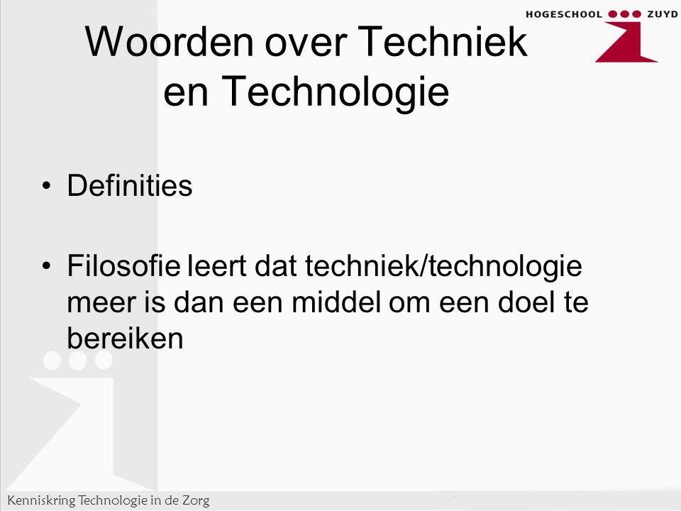Woorden over Techniek en Technologie