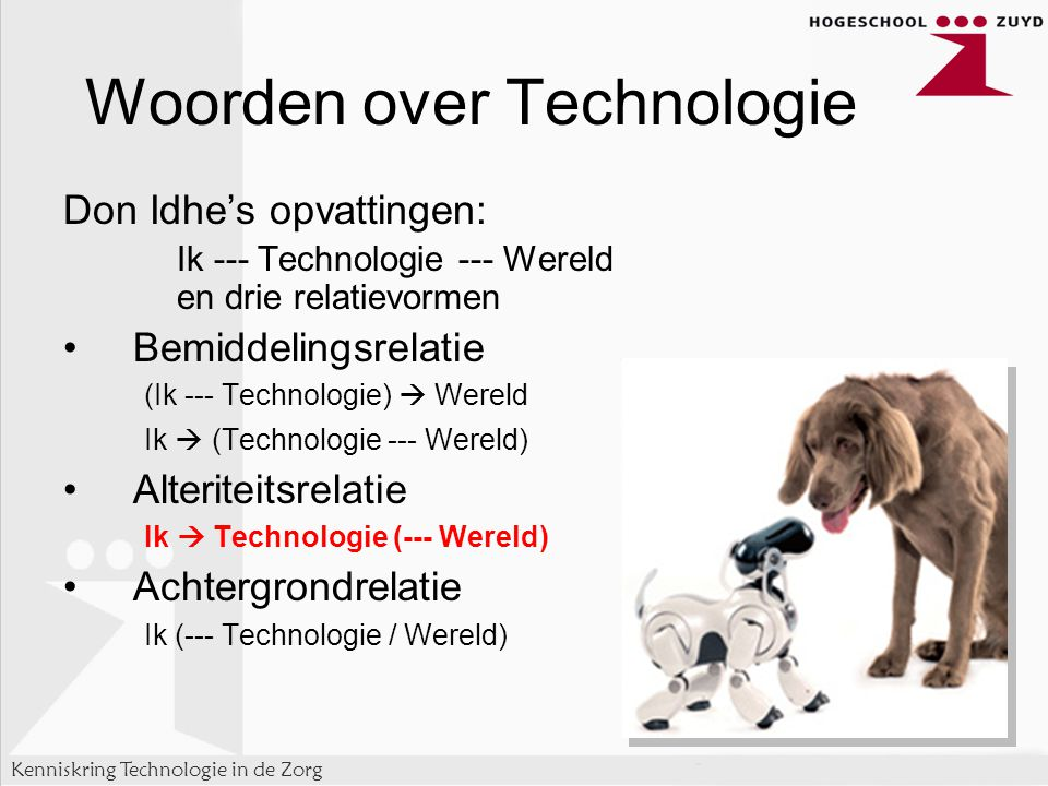 Woorden over Technologie