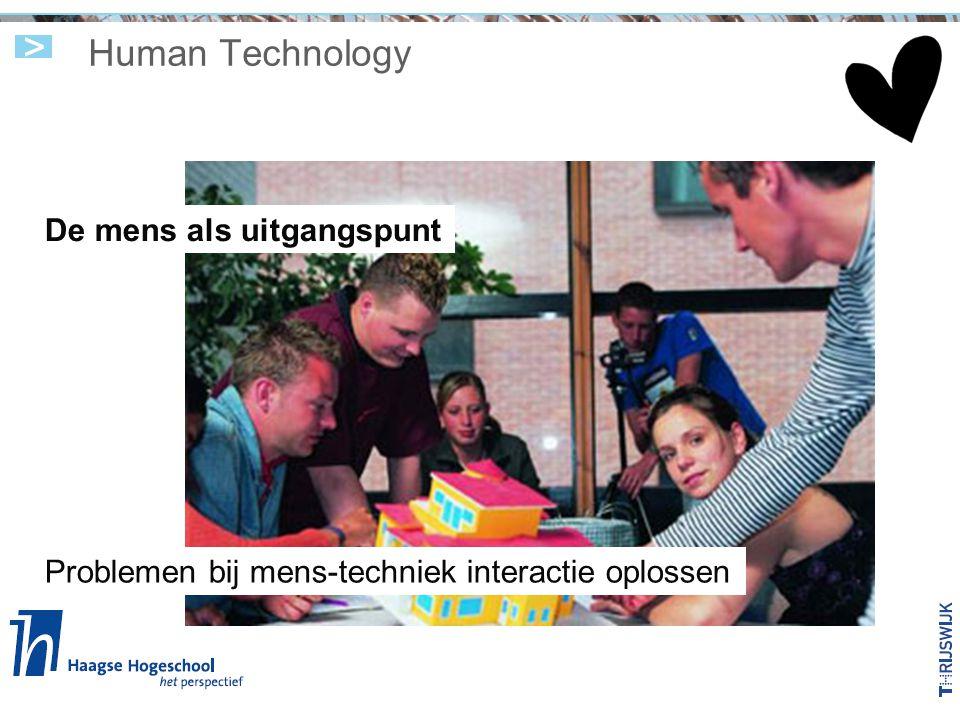 Human Technology De mens als uitgangspunt