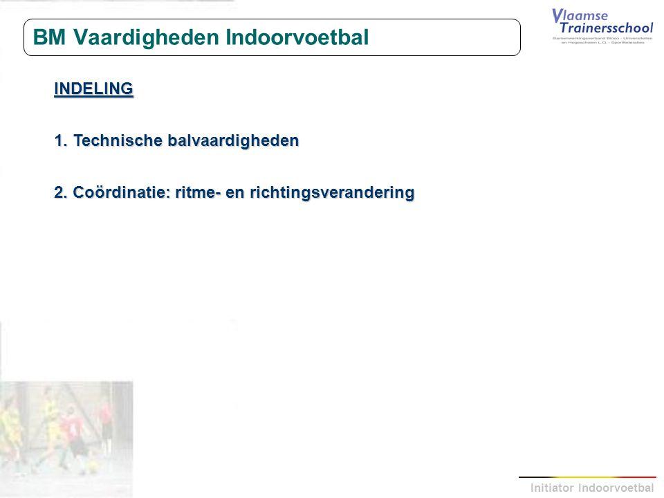 BM Vaardigheden Indoorvoetbal