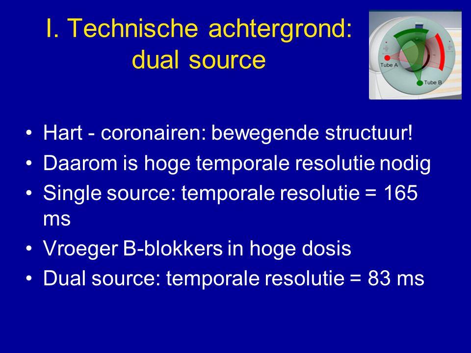 I. Technische achtergrond: dual source