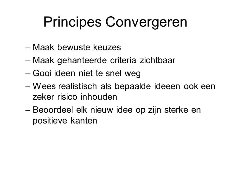 Principes Convergeren