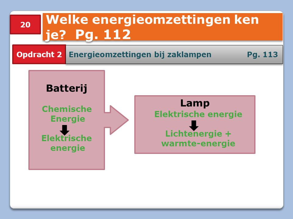 Lichtenergie + warmte-energie