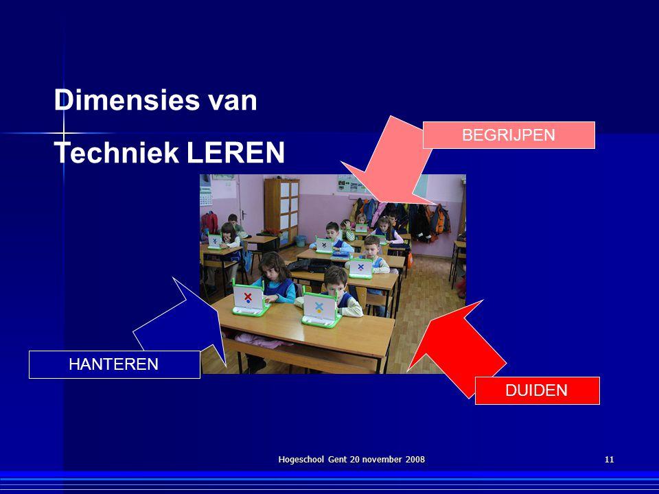 Hogeschool Gent 20 november 2008