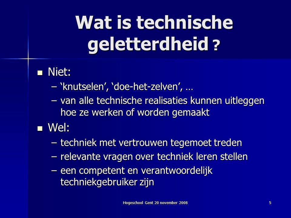 Wat is technische geletterdheid