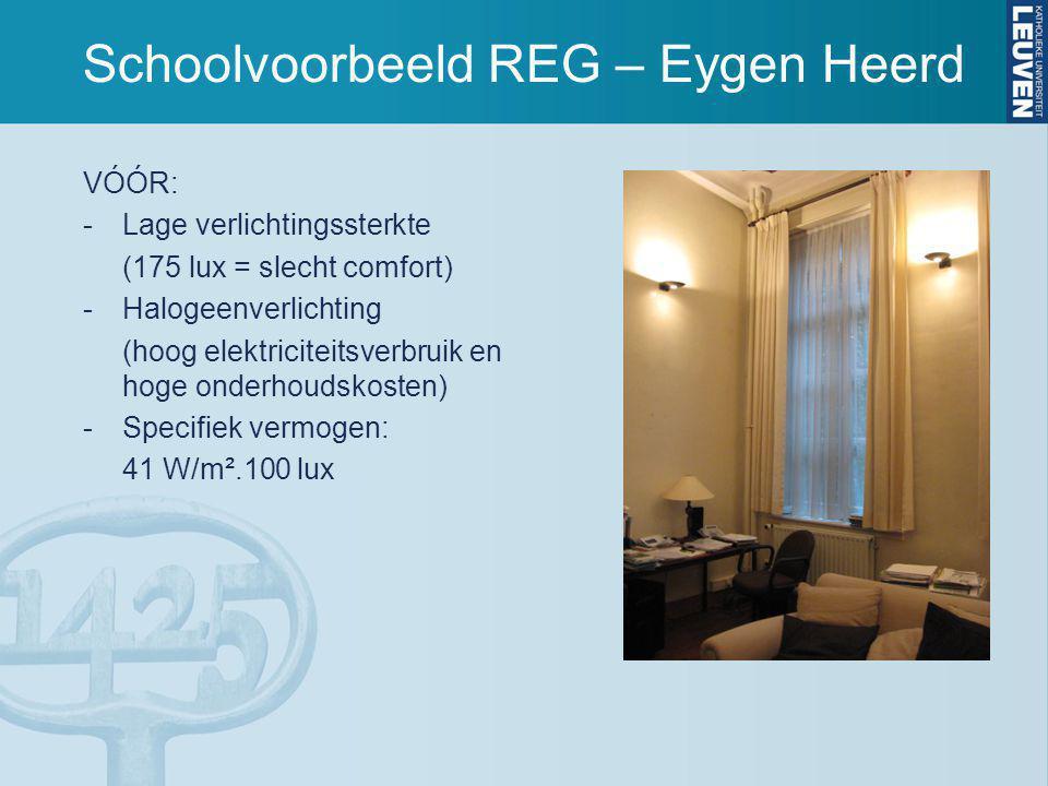 Schoolvoorbeeld REG – Eygen Heerd