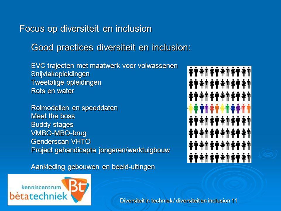 Diversiteit in techniek / diversiteit en inclusion 11