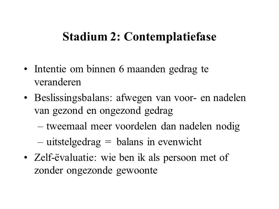 Stadium 2: Contemplatiefase