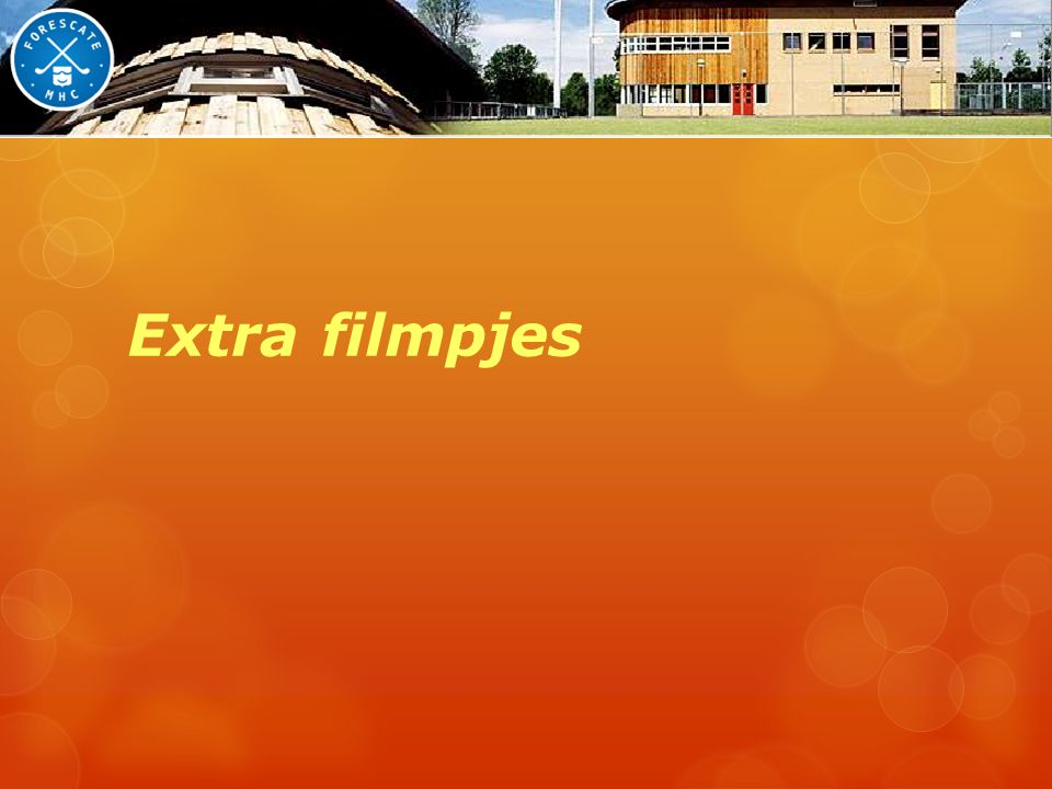 Extra filmpjes