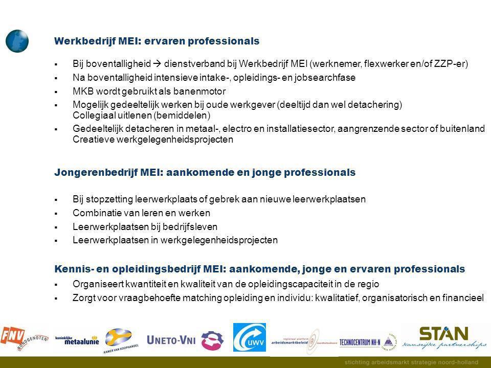 Werkbedrijf MEI: ervaren professionals