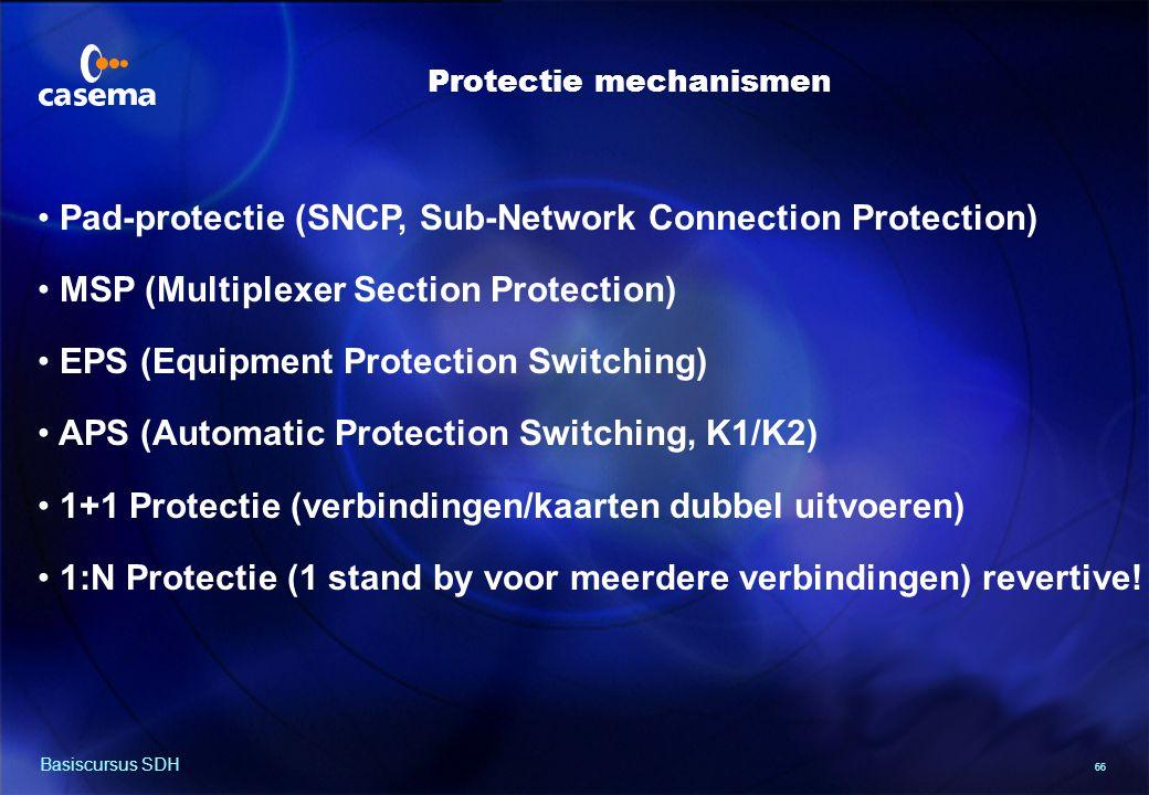 Pad protectie (1) 2 Mb TRIB 2 Mb TRIB VC-12 working path W E W E E W