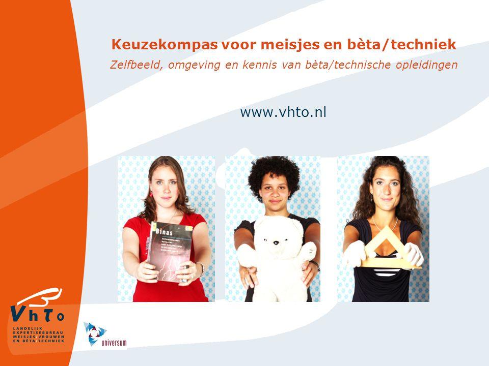 Keuzekompas voor meisjes en bèta/techniek Zelfbeeld, omgeving en kennis van bèta/technische opleidingen