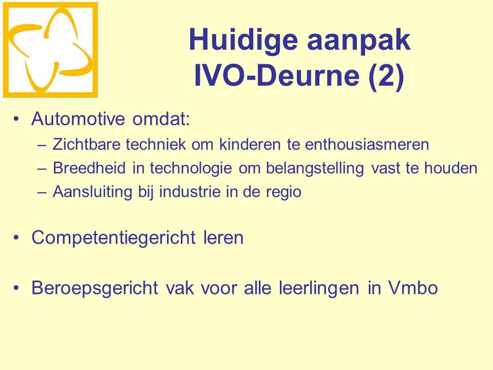 Huidige aanpak IVO-Deurne (2)