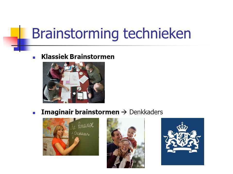Brainstorming technieken