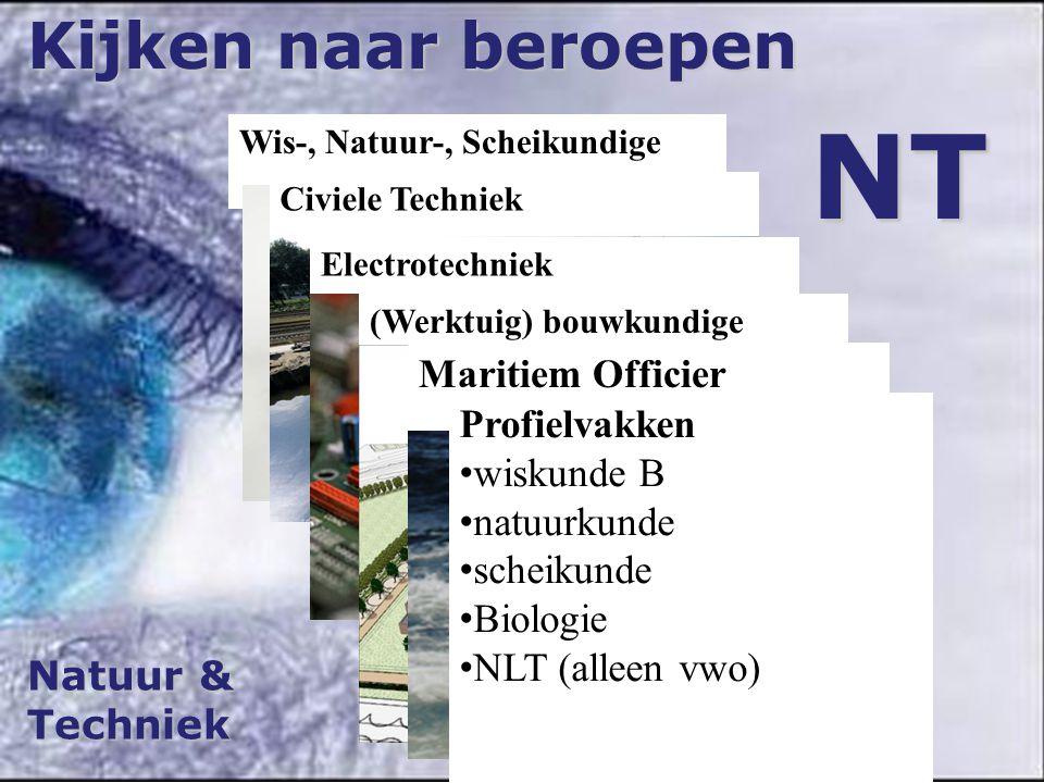 NT Kijken naar beroepen Maritiem Officier Profielvakken wiskunde B