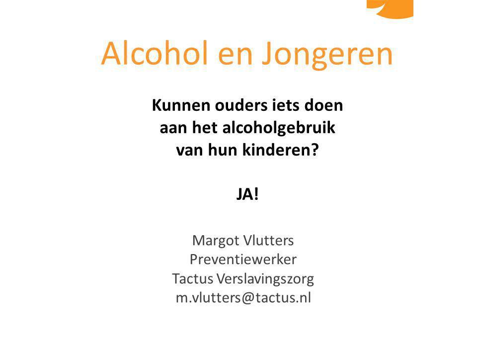 Kunnen ouders iets doen aan het alcoholgebruik
