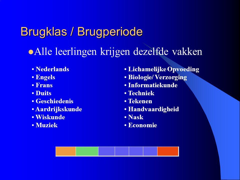 Brugklas / Brugperiode
