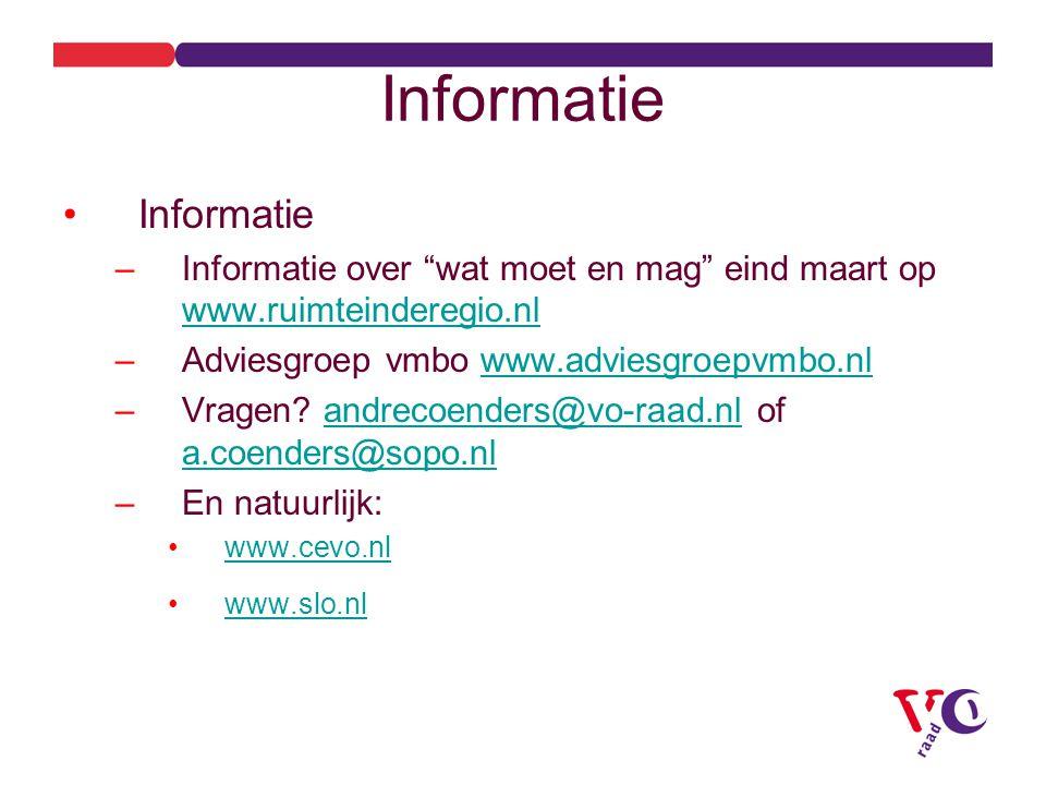 Informatie Informatie