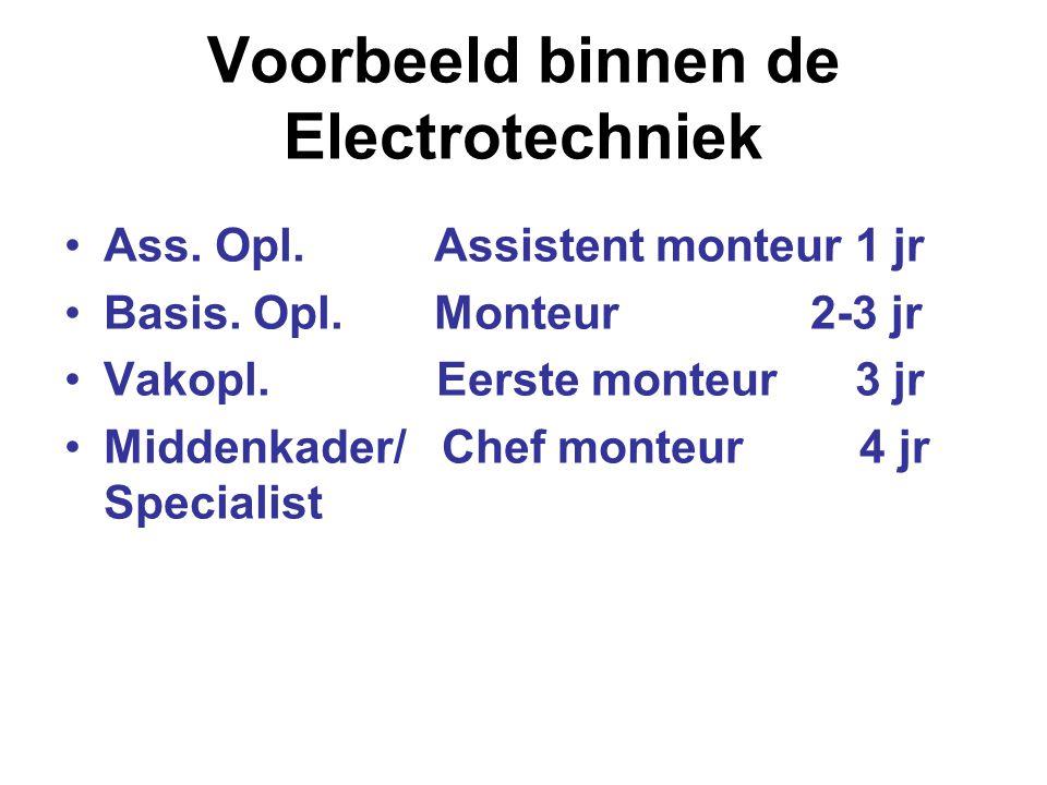 Voorbeeld binnen de Electrotechniek