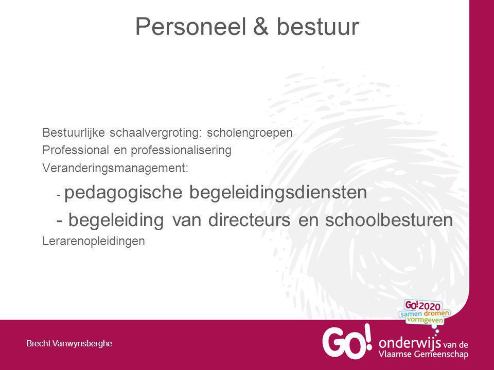 Personeel & bestuur - begeleiding van directeurs en schoolbesturen