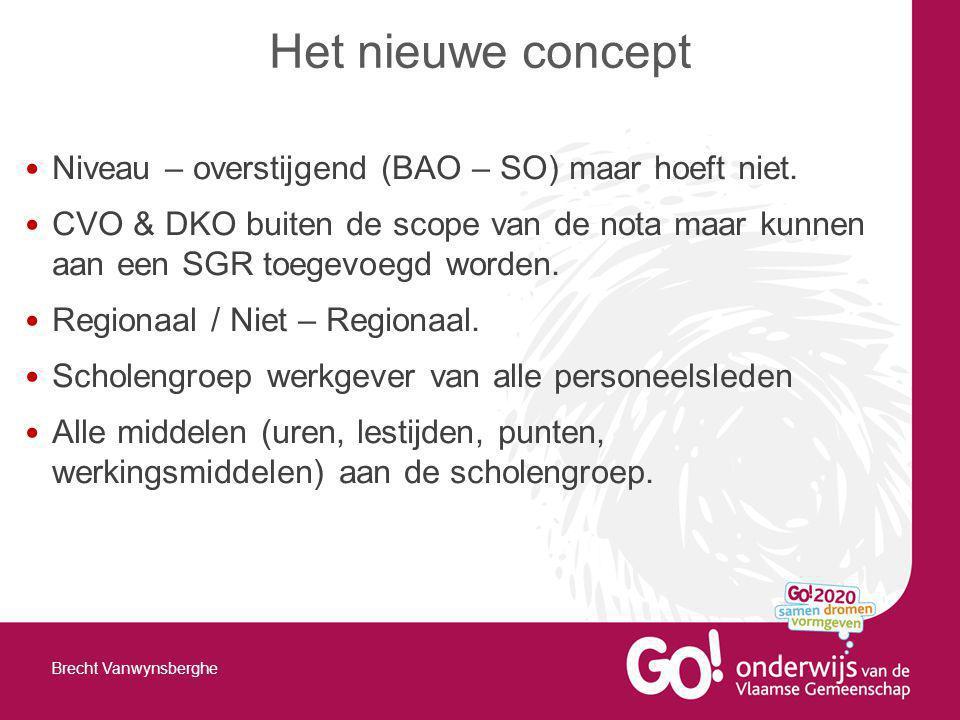 Het nieuwe concept Niveau – overstijgend (BAO – SO) maar hoeft niet.