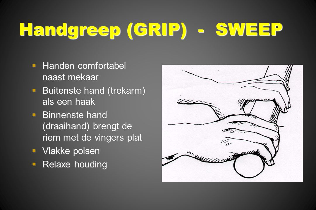 Handgreep (GRIP) - SWEEP