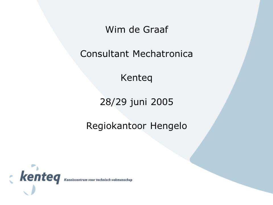 Consultant Mechatronica