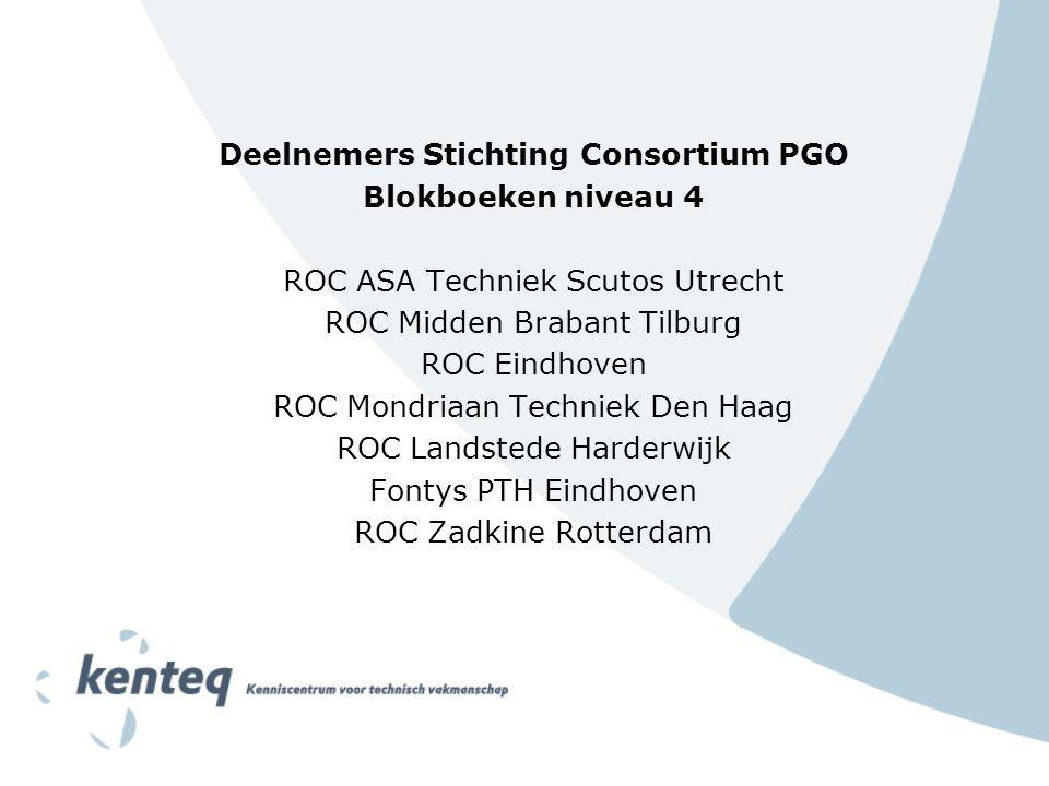 Deelnemers Stichting Consortium PGO