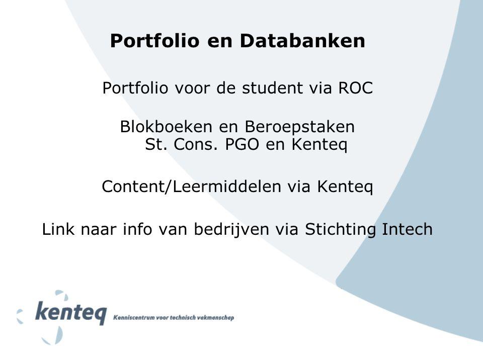 Portfolio en Databanken