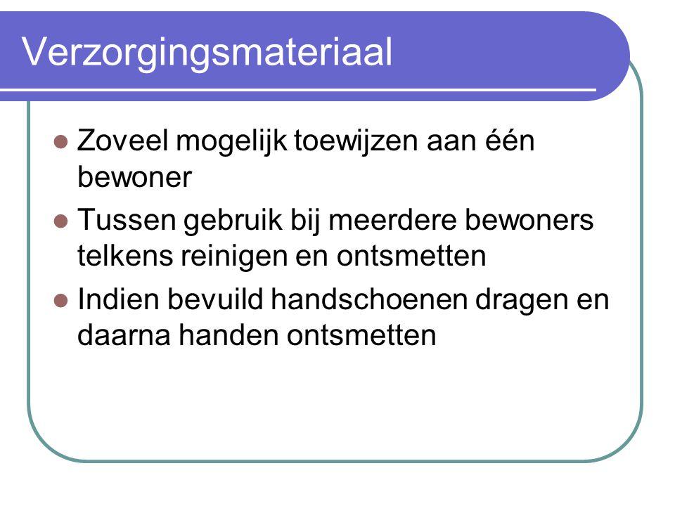 Verzorgingsmateriaal