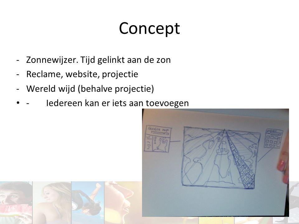 Concept Zonnewijzer. Tijd gelinkt aan de zon