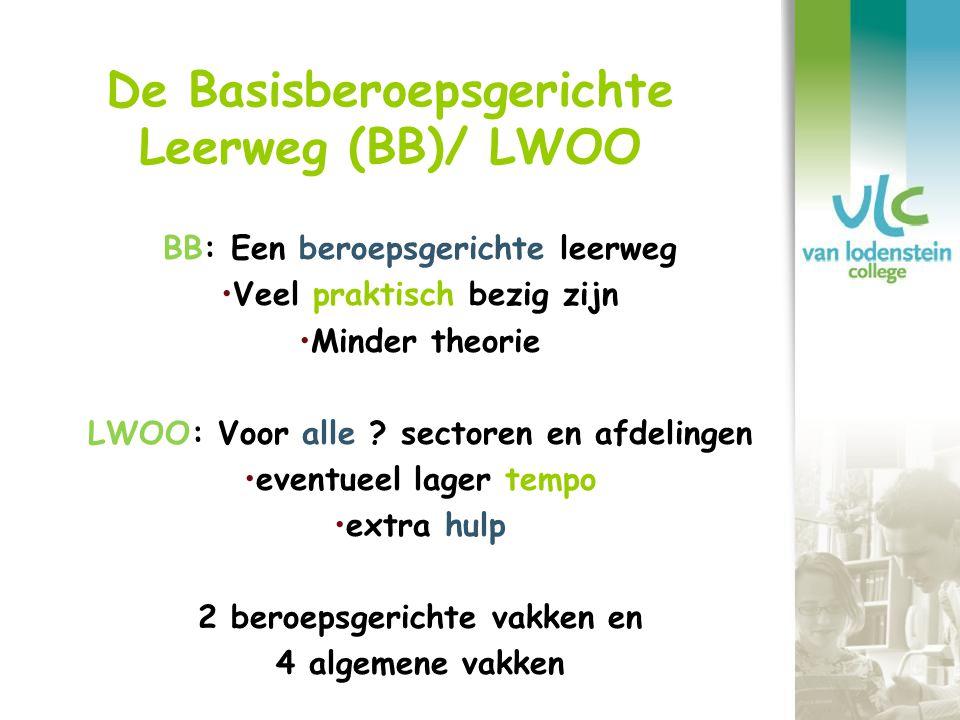 De Basisberoepsgerichte Leerweg (BB)/ LWOO