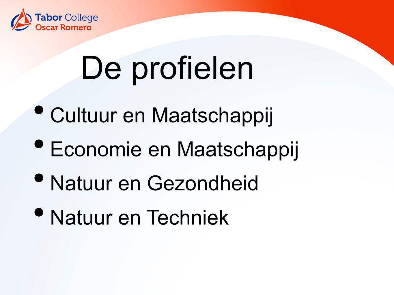 De profielen Cultuur en Maatschappij Economie en Maatschappij