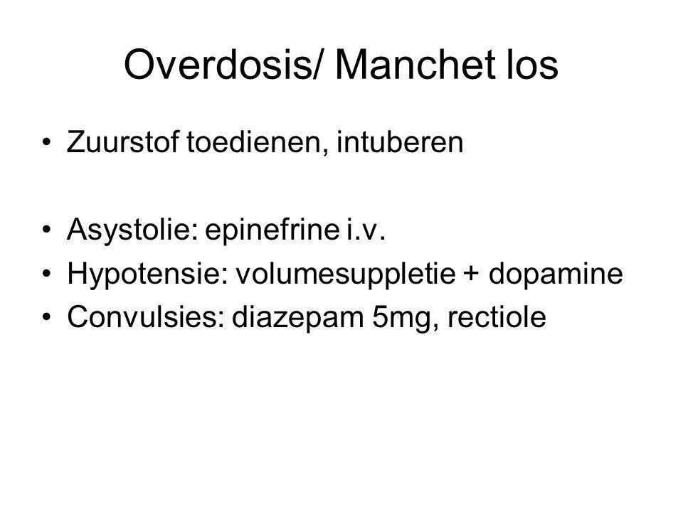 Overdosis/ Manchet los