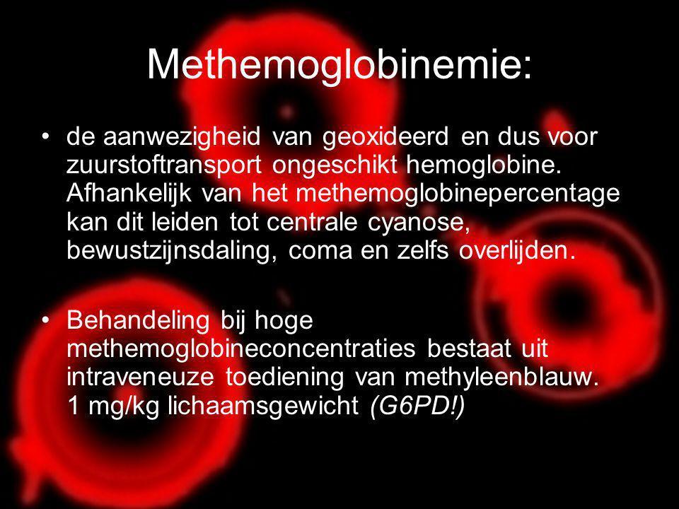 Methemoglobinemie: