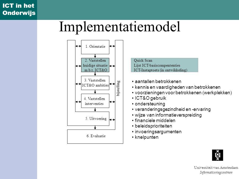 Implementatiemodel aantallen betrokkenen