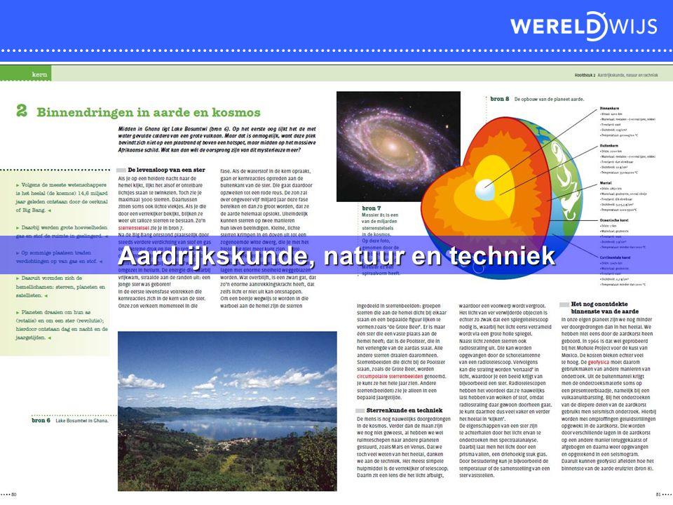 Aardrijkskunde, natuur en techniek