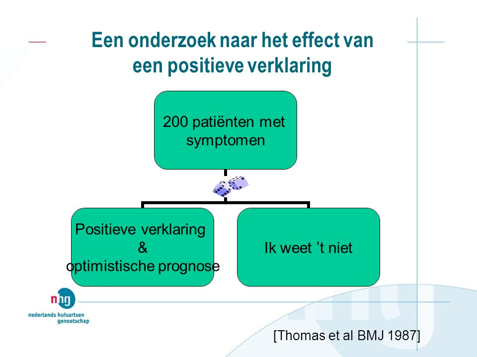 Een onderzoek naar het effect van een positieve verklaring