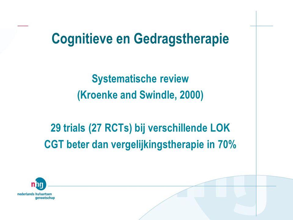 Cognitieve en Gedragstherapie