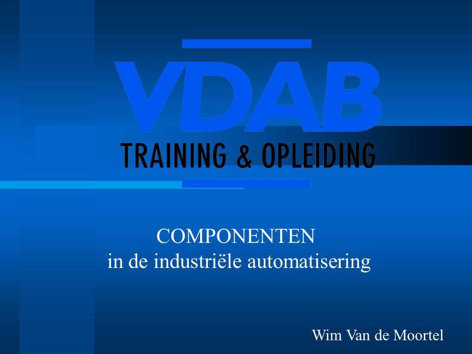 COMPONENTEN in de industriële automatisering