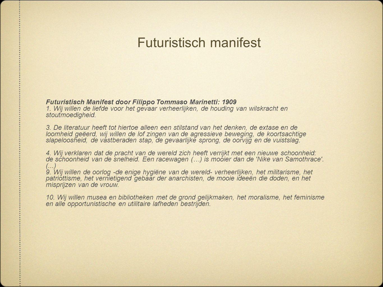 Futuristisch manifest