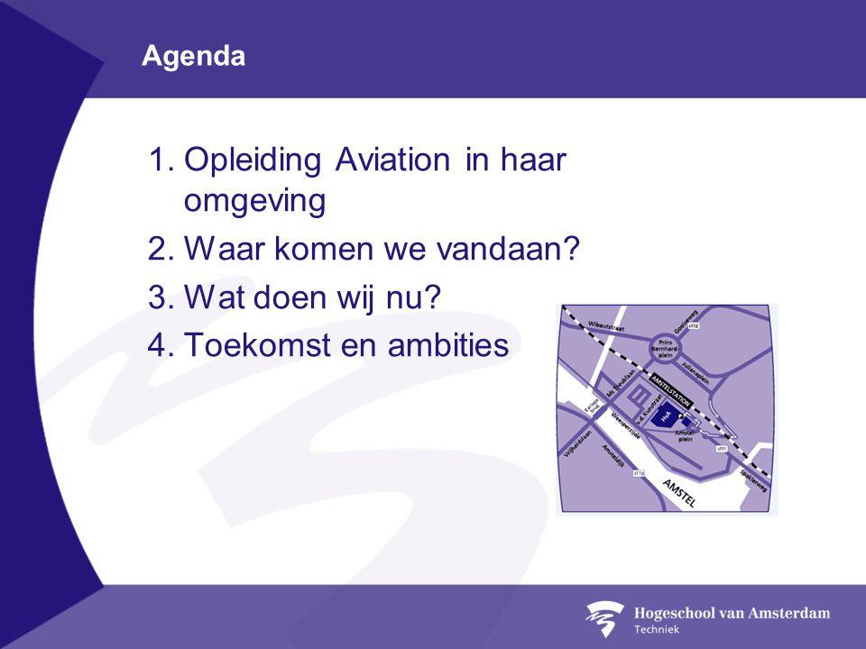 Opleiding Aviation in haar omgeving Waar komen we vandaan