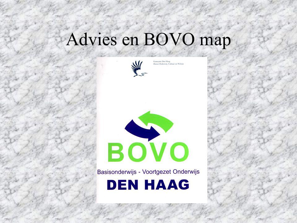 Advies en BOVO map