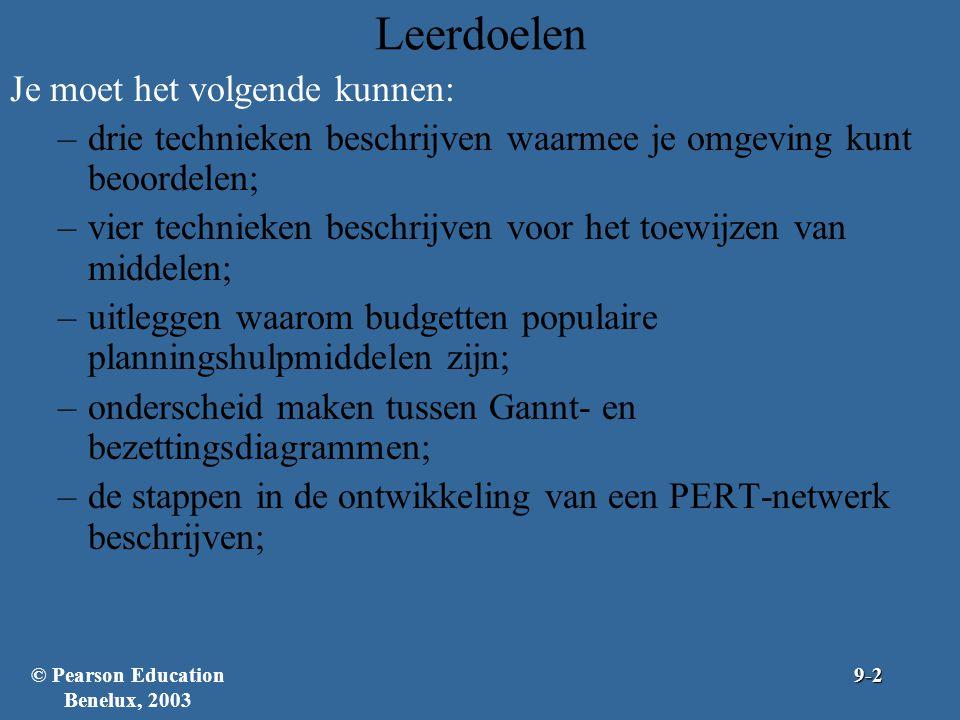 © Pearson Education Benelux, 2003