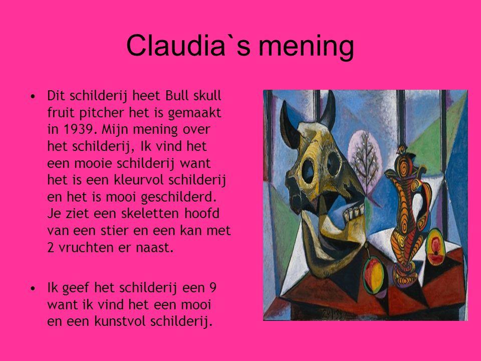 Claudia`s mening