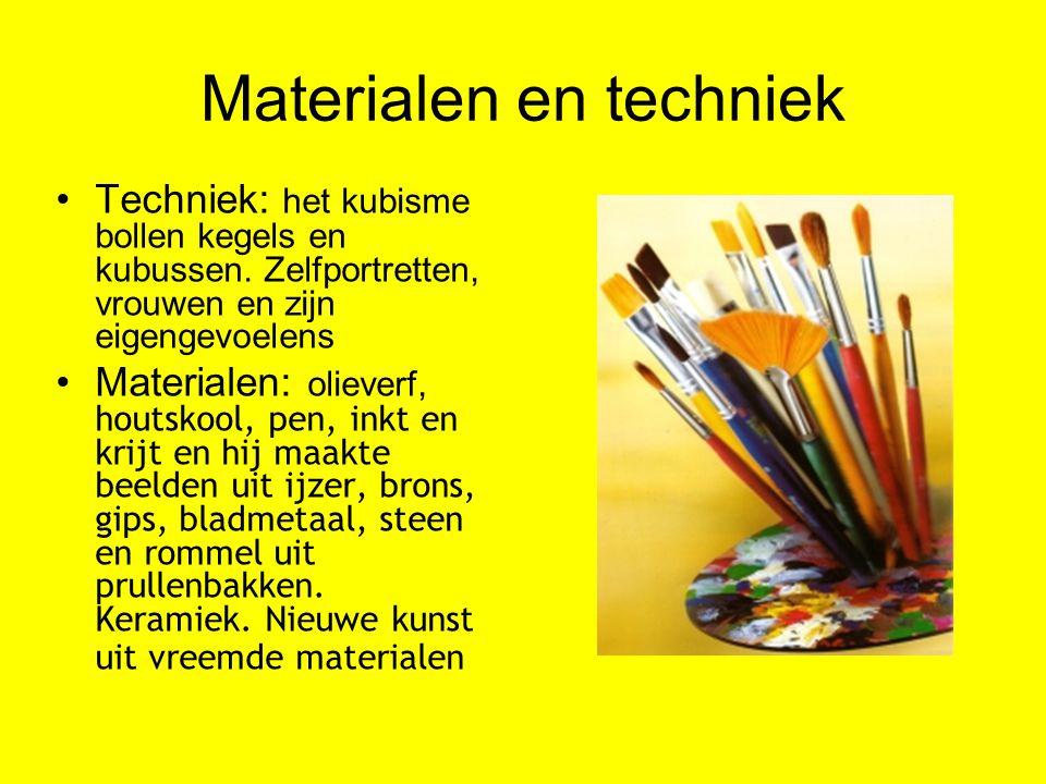 Materialen en techniek