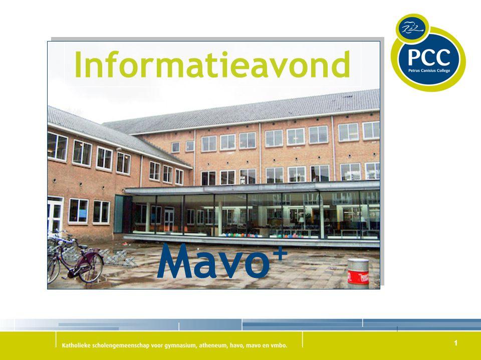 Informatieavond Mavo+