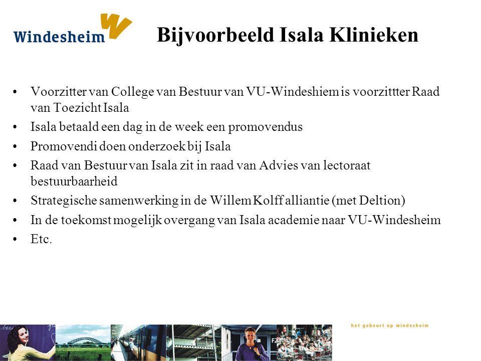 Bijvoorbeeld Isala Klinieken